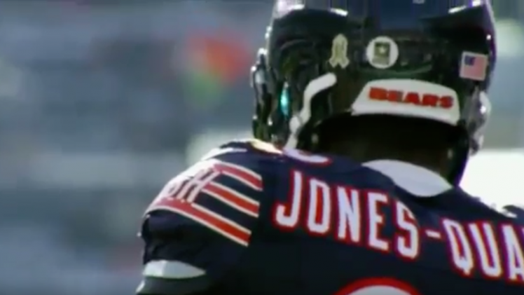 Chicago Bears Harold Jones Quartey – Concept Alumni