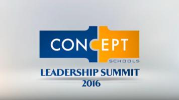 Concept Schools Leadership Summit 2016